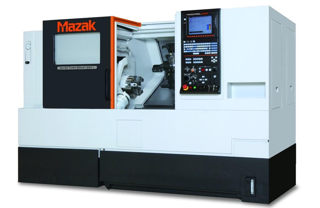 QUICK TURN SMART 200 L mit starren Linearrollenführungen und einem integriertem Spindelmotor