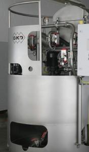 Der Kompaktfilter von GKD vereint Filtration und Brikettierung in einer Anlage.