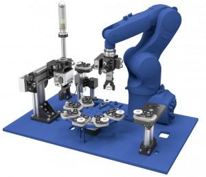 Intelligente und vernetzbare SCHUNK Module bilden die Grundlage für die flexible Produktionsautomatisierung. Dabei können Anwender zwischen pneumatischen und mechatronischen Varianten wählen.