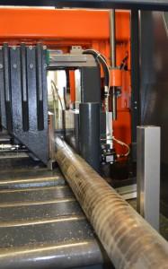 Die KASTOwin-Sägen bringen das Stangenmaterial schnell und effizient in die vom Kunden gewünschte Länge.