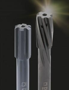 """Neben der vielseitig einsetzbaren KOMET Fullmax Universal-Reibahle stehen jetzt auch sogenannte """"Champions"""" zur Verfügung, die speziell auf bestimmte Werkstoffe abgestimmt sind."""