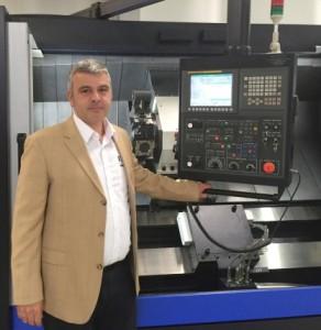 Hwacheon Machinery Europe Geschäftsführer, Christoph Smets