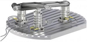 Die modular aufgebauten SCHUNK VERO-S Spannsäulen ermöglichen unter anderem im Werkzeug- und Formenbau eine optimale Zugänglichkeit und eine definierte Spannsituation