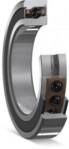 Kernstück der jüngsten Vigel-Werkzeugmaschinen: Abgedichtete Hochgenauigkeits-Schrägkugellager von SKF mit Keramikkugeln