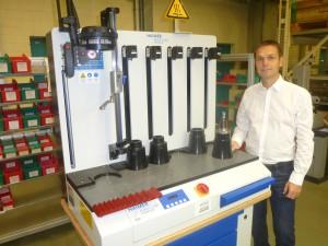 Alexander Steurer, Leiter CNC-Programmierung Stator-Bauteile bei der MTU.