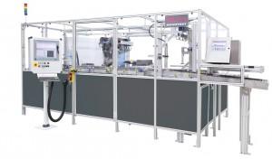 Inline-Messung mit der Mehrstellenmessmaschine von Blum-Novotest für die 100%-Messung von Bremsscheiben.