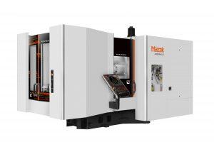 Die HCN 5000/50 ist ein neues Bearbeitungszentrum mit 50er Steilkegel und 500-mm-Vierkantpalette.